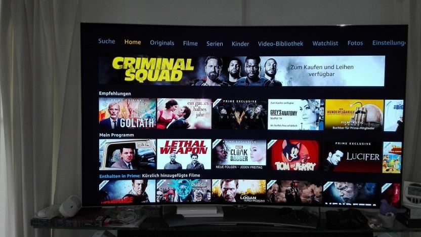 Zu Hause mit Amazon Prime Video