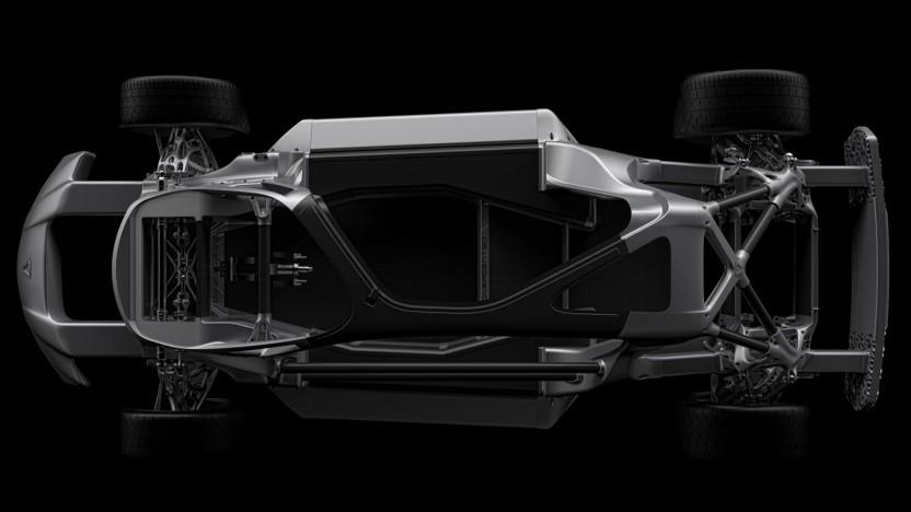 3D-gedruckte Teile für ein Auto