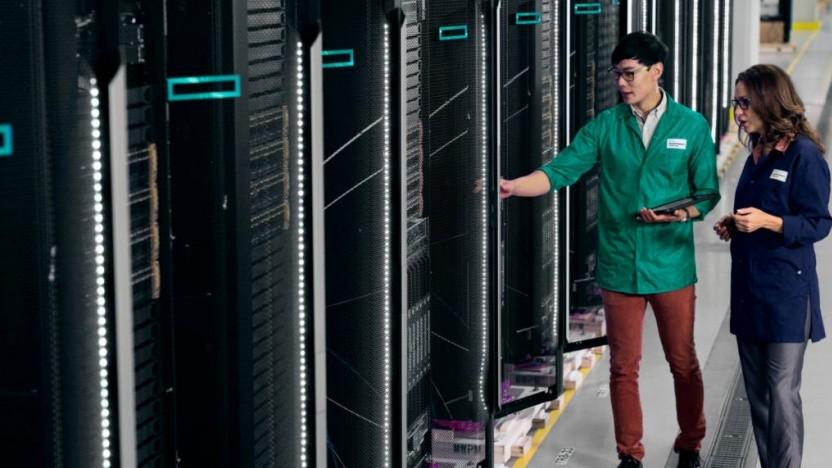 HPE arbeitet im Rahmen von Pointnext eng mit Kunden zusammen.