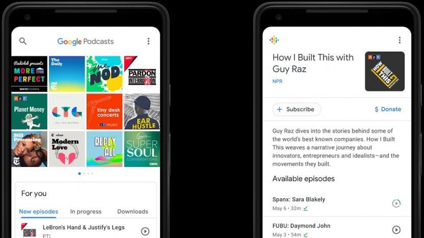 Die neue Podcast-App von Google