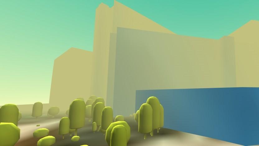 Eine einfache VR-Geländedemo mit Daten aus San Francisco
