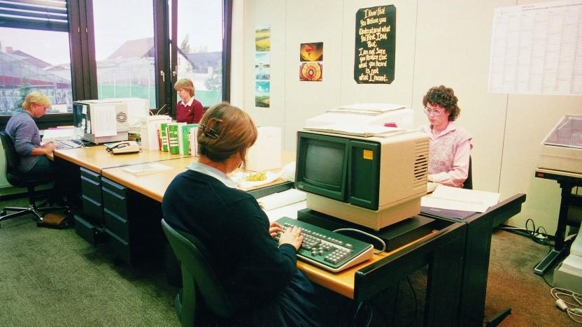 SAP Büro im Jahr 1983
