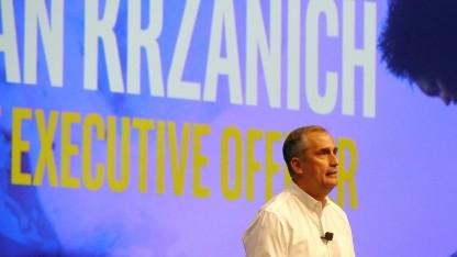Brian Krzanich auf dem IDF 2016