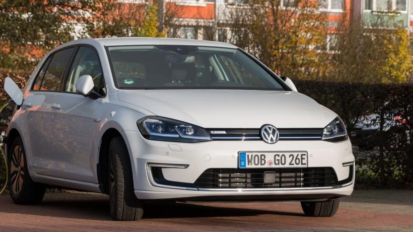 Elektrischer VW Golf (Symbolbild): mehr Reichweite, keine Feuergefahr