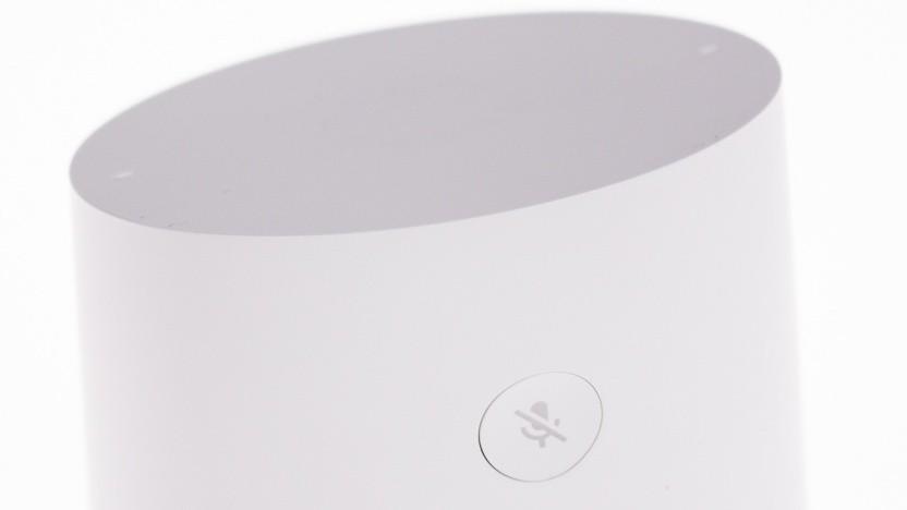 Die neue Art der Konversation läuft auf Googles smarten Lautsprechern, wie etwa dem Home.