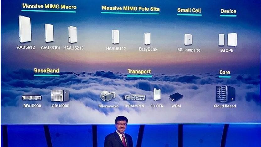 Huawei: Die Produkte für ein 5G-Netz sind fertig.