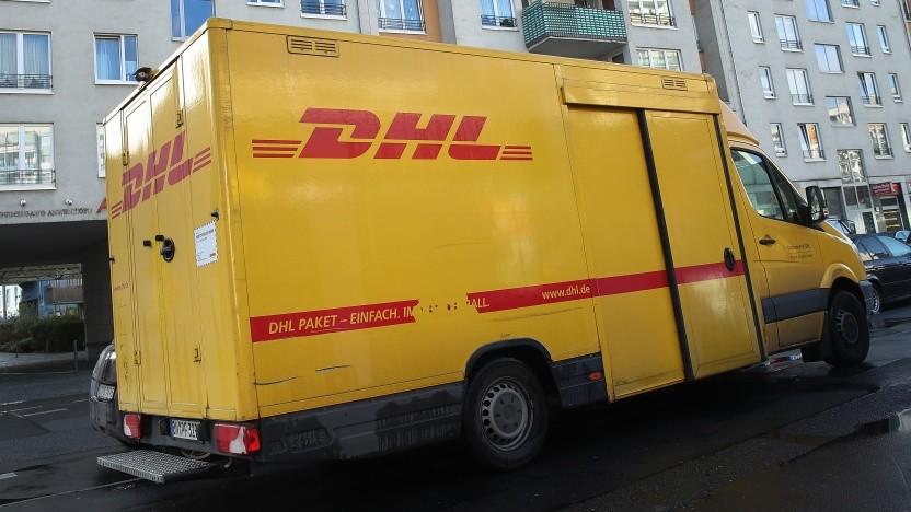 Amazon ist der größte DHL-Kunde.