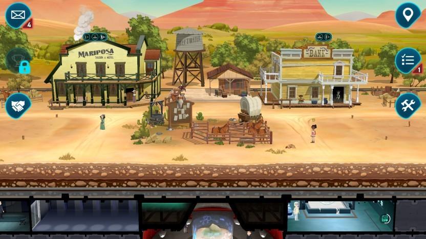 Westworld Mobile basiert auf der TV-Serie von HBO.