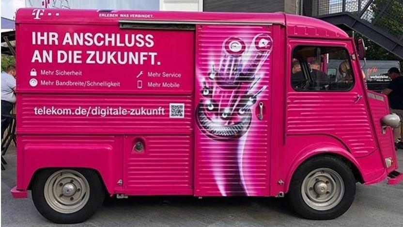 Infomobil der Telekom