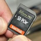 SD Express: SD-Karten-Standard schafft 1 GByte/s und 128 TByte