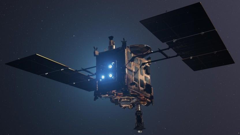 Sonde Hayabusa: 3,2 Millarden km bis Ryugu