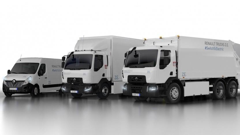 Neue Elektrolieferwagen von Renault