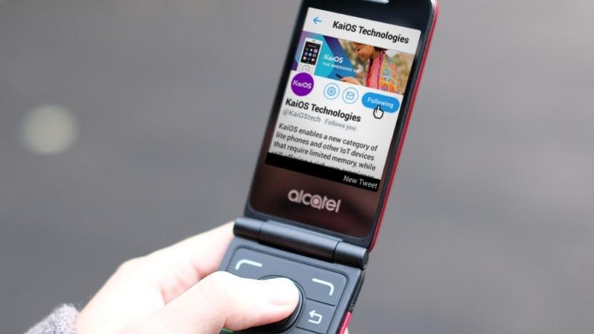 Ein Handy mit KaiOS
