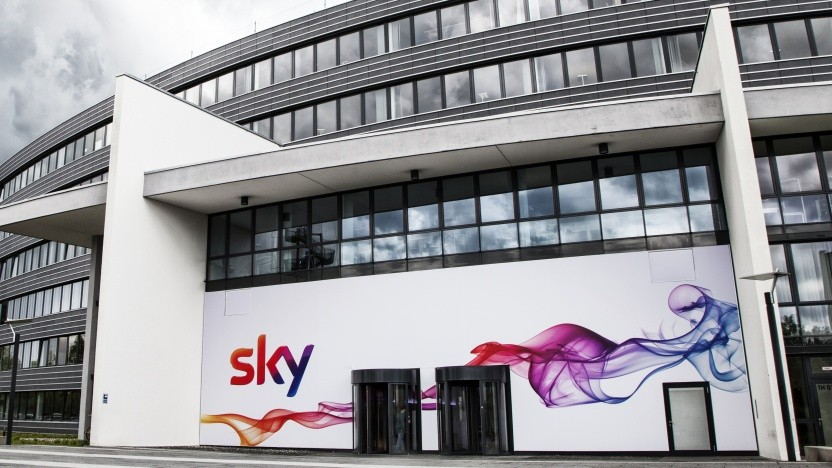 Das Gebäude des Pay-TV-Senders Sky