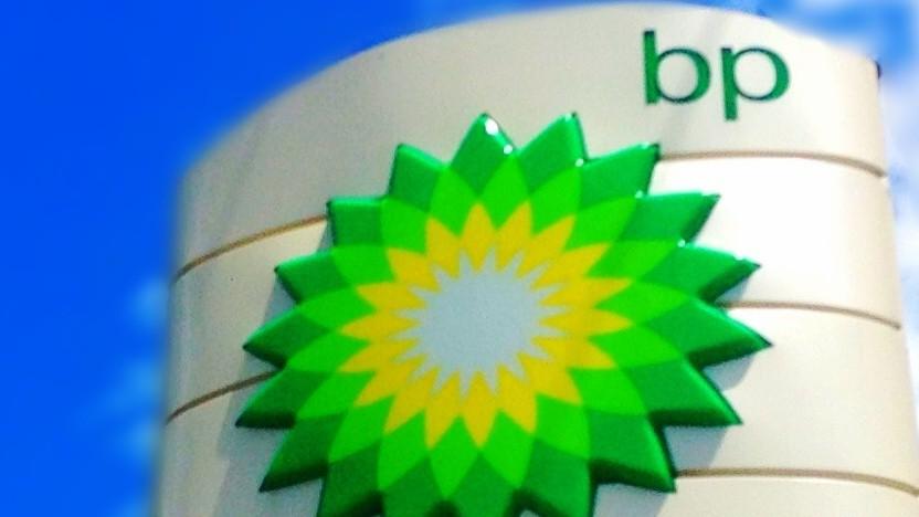 BP-Tankstellenschild
