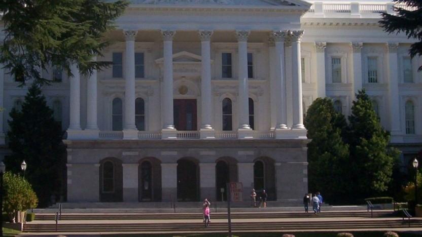 Das Kapitol in der kalifornischen Hauptstadt Sacramento