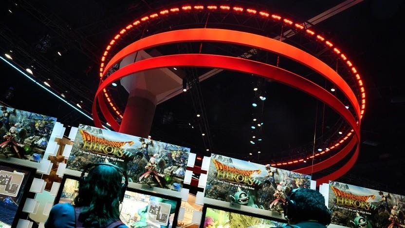 Stand der Google-Tocher Youtube Gaming auf der Spielemesse E3 in Los Angeles.