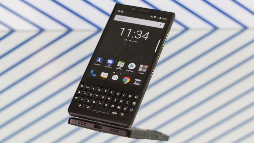 Blackberry Key2 - das Android-Smartphone mit Hardware-Tastatur