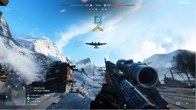 Kurz vor einem Level-Up in Battlefield 5