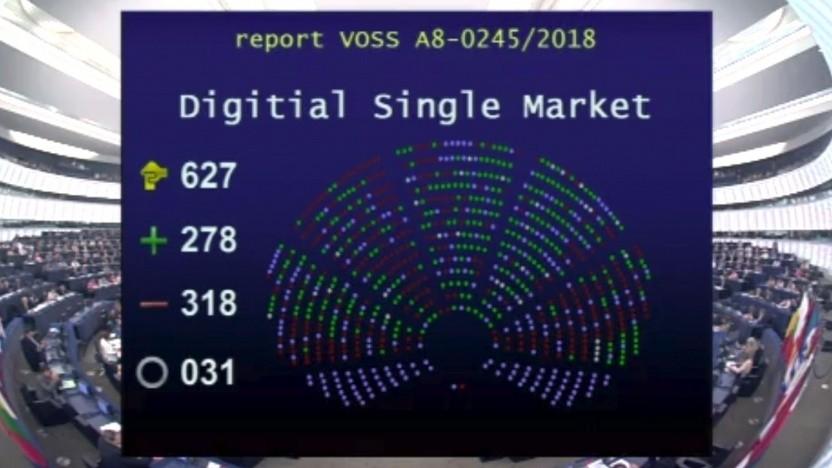Die Mehrheit lehnt die Pläne von Axel Voss ab.