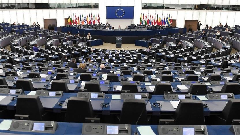 Das Europaparlament macht Druck beim Datenschutz in den USA.