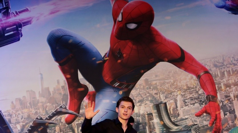 Auch das Aussehen von Spiderman im jüngsten Film Homecoming ist an Ditkos Design angelehnt, hier mit im Bild: Hauptdarsteller Tom Holland.