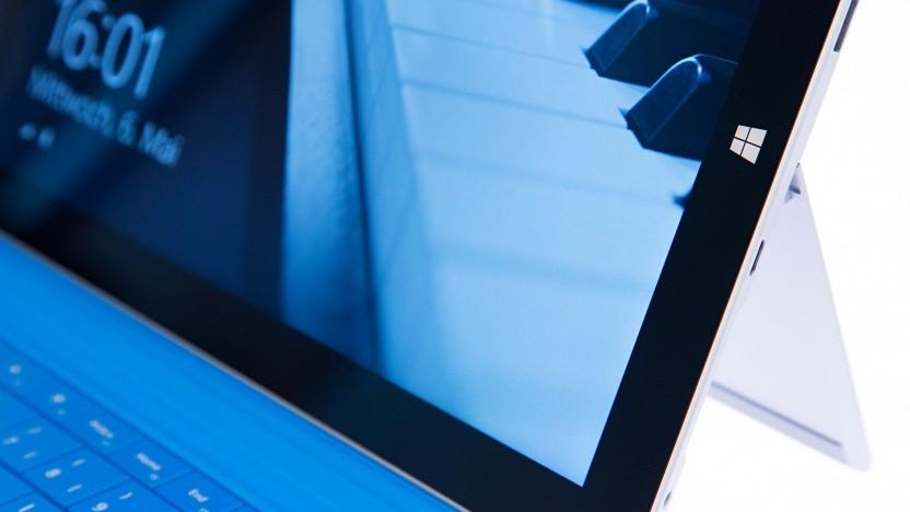 Das aktuelle Surface 3