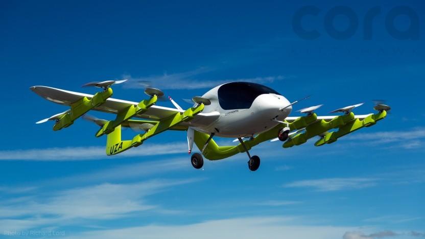 Cora ist eines der Flugtaxis, für das sich das US-Militär interessiert.