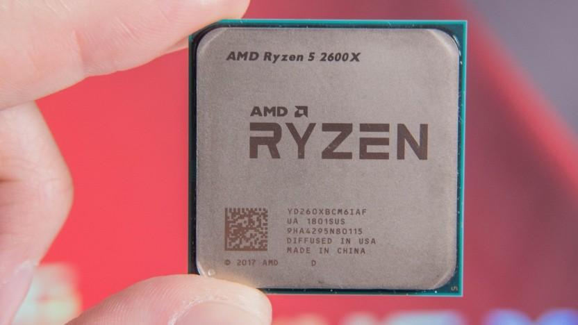 Ein Ryzen-Chip von AMD