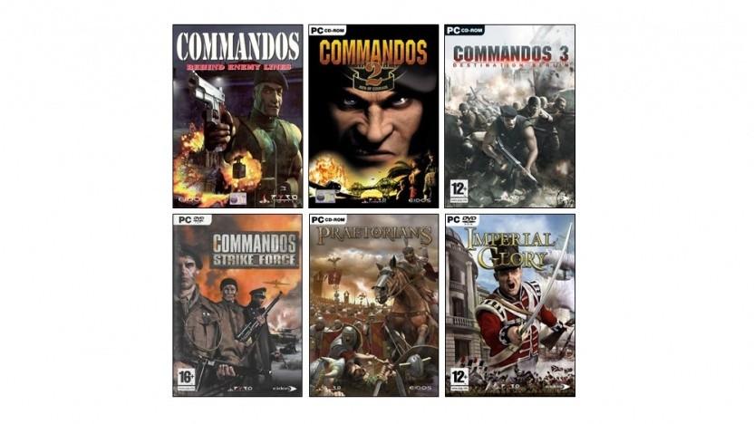 Neben Commandos besitzt Kalypso nun auch die Rechte an den Strategiespielen Praetorians und Imperial Glory.