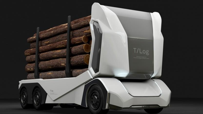T-Log kann auch von einem Fernfahrer gesteuert werden.