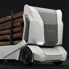 Einride: Holzlaster T-Log fährt im Wald elektrisch und autonom