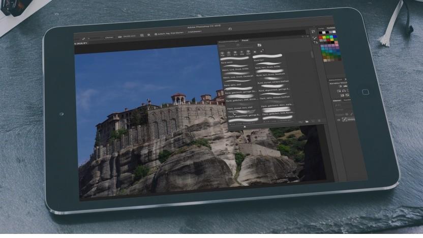 Photoshop auf dem iPad (Bildmontage)