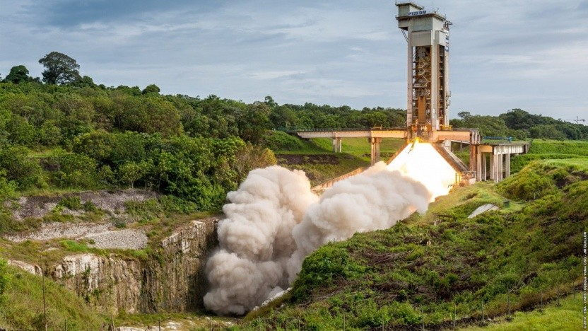 Die Feststoffbooster der Ariane 6 wurden erfolgreich getestet.