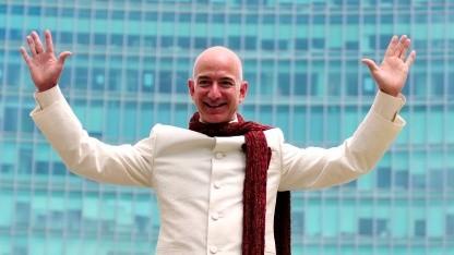 Amazon-Chef: Jeff Bezos ist der reichste Mensch der Welt