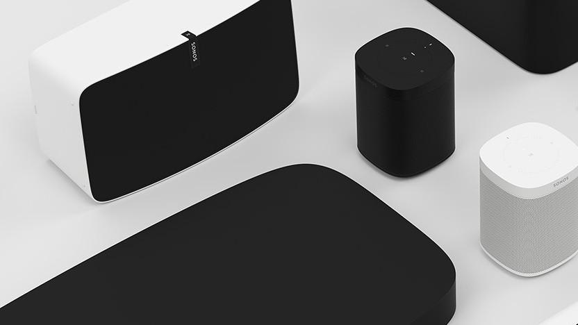 Verschiedene Sonos-Lautsprecher