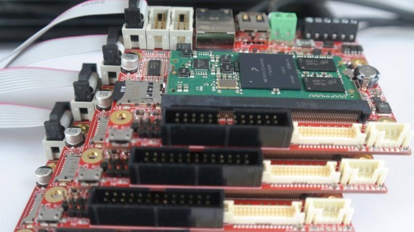 Die bisher verwendete Vorserie des Entwicklerboards nutzt nicht die finale Hardware des Librem 5.