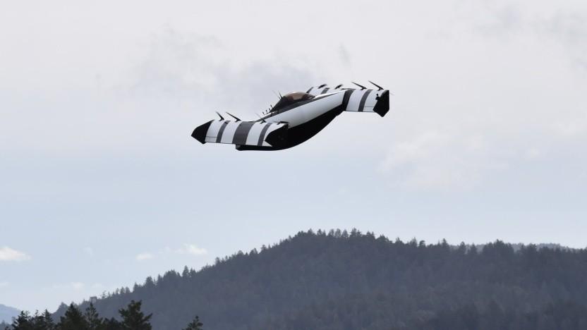 Lufttaxi Blackfly: Hersteller schult Piloten.