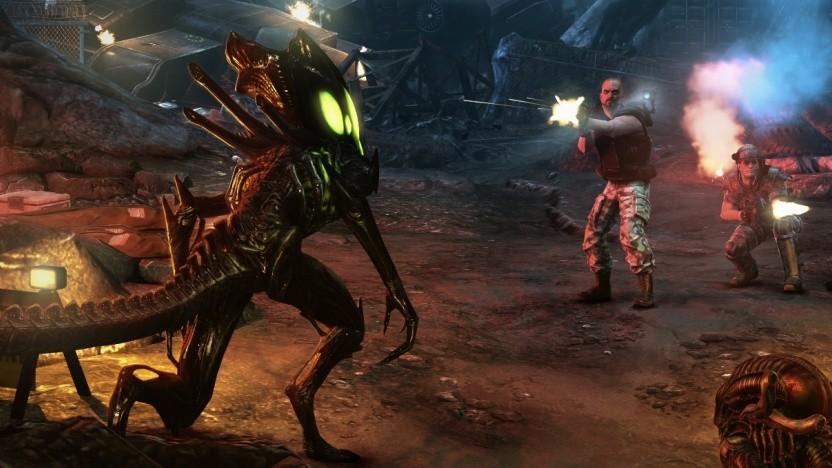"""Ein """"a"""" macht die Außerirdischen in Aliens Colonial Marines etwas dümmer."""