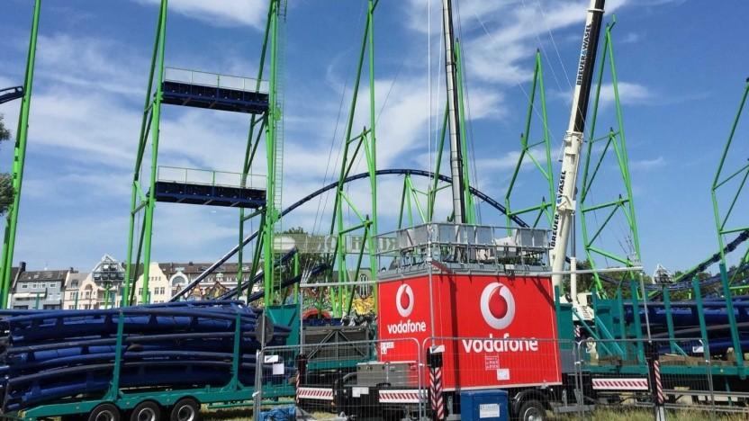 Die mobile Station von Vodafone