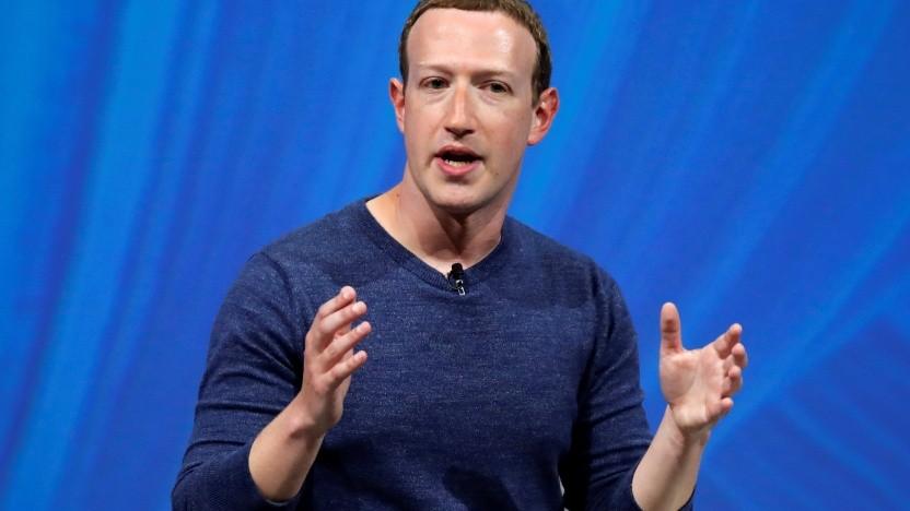 Facebook-Chef Mark Zuckerberg will die Holocaustleugnung auf seiner Plattform dulden.