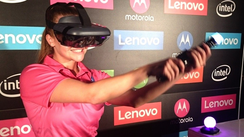Augmented-Reality-Headset von Lenovo