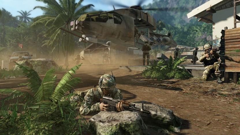 Screenshot aus der Kampagne Crysis.