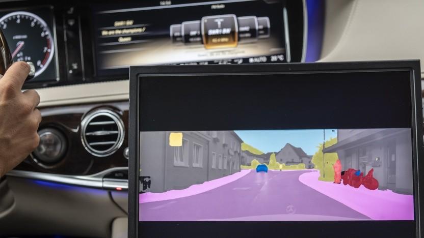 Die Sensorsysteme müssen zwischen den verschiedenen Objekten im Straßenverkehr unterscheiden.
