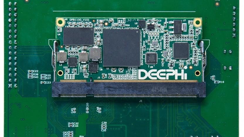 Eine Entwickler-Platine mit Xilinx-FPGA