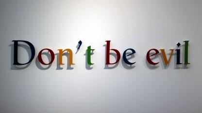Google wollte einst nicht böse sein.