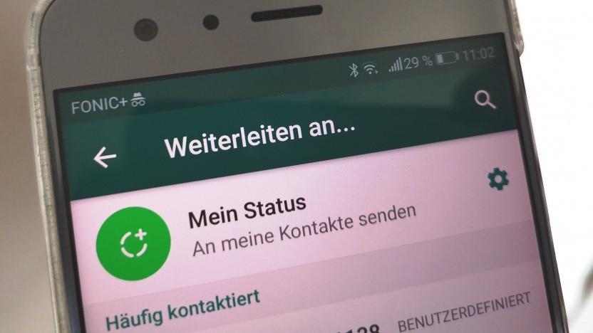 Whatsapp soll kein Nachrichtenmedium werden.