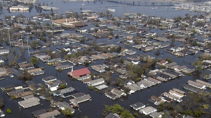 Von Überschwemmungen wird die Netzwerkinfrastruktur des Internets betroffen sein.