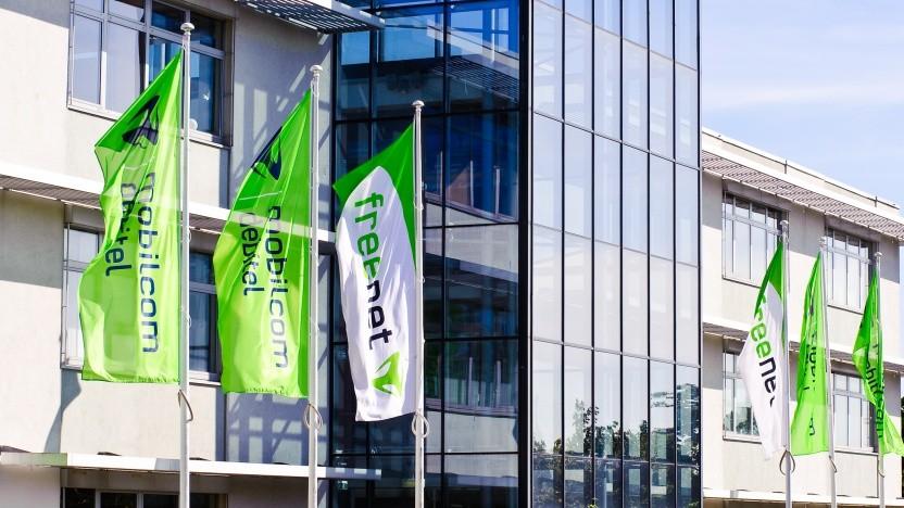 Freenet ist der Eigner von Mobilcom-Debitel: hier der Firmensitz Büdelsdorf