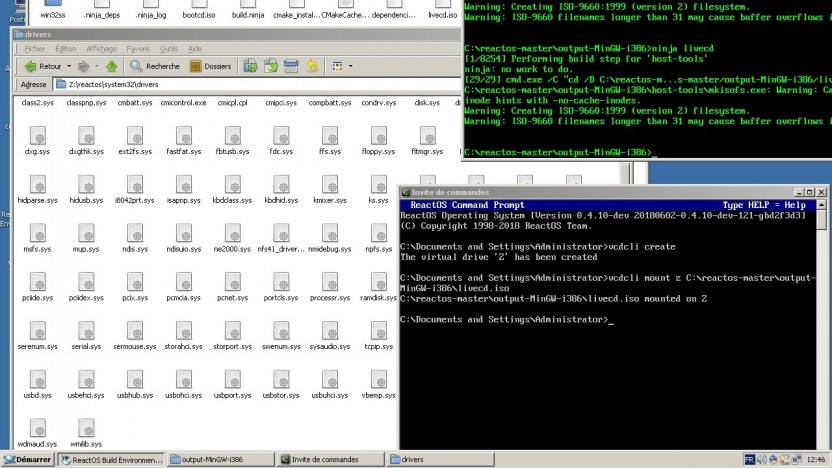Das Team von ReactOS versucht sich an einem freien Windows-Nachbau.